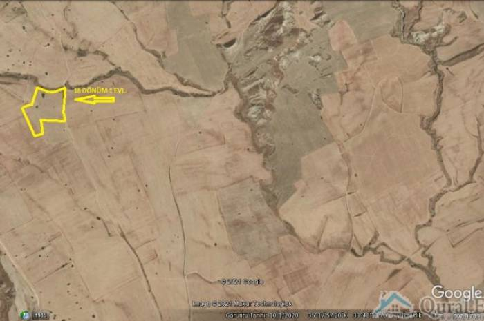 Akova bölgesin'de satılık 18 don 1 evlek arazi